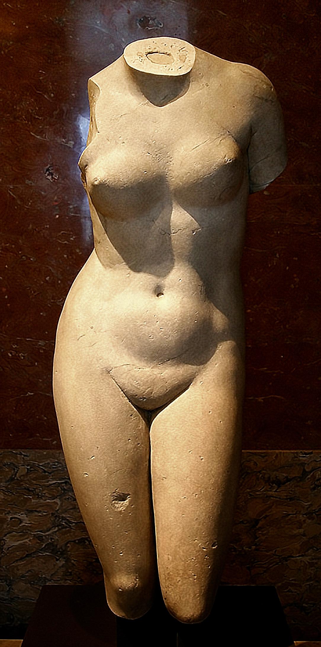 Torse Féminin du type de l Aphrodite de Cnide,1