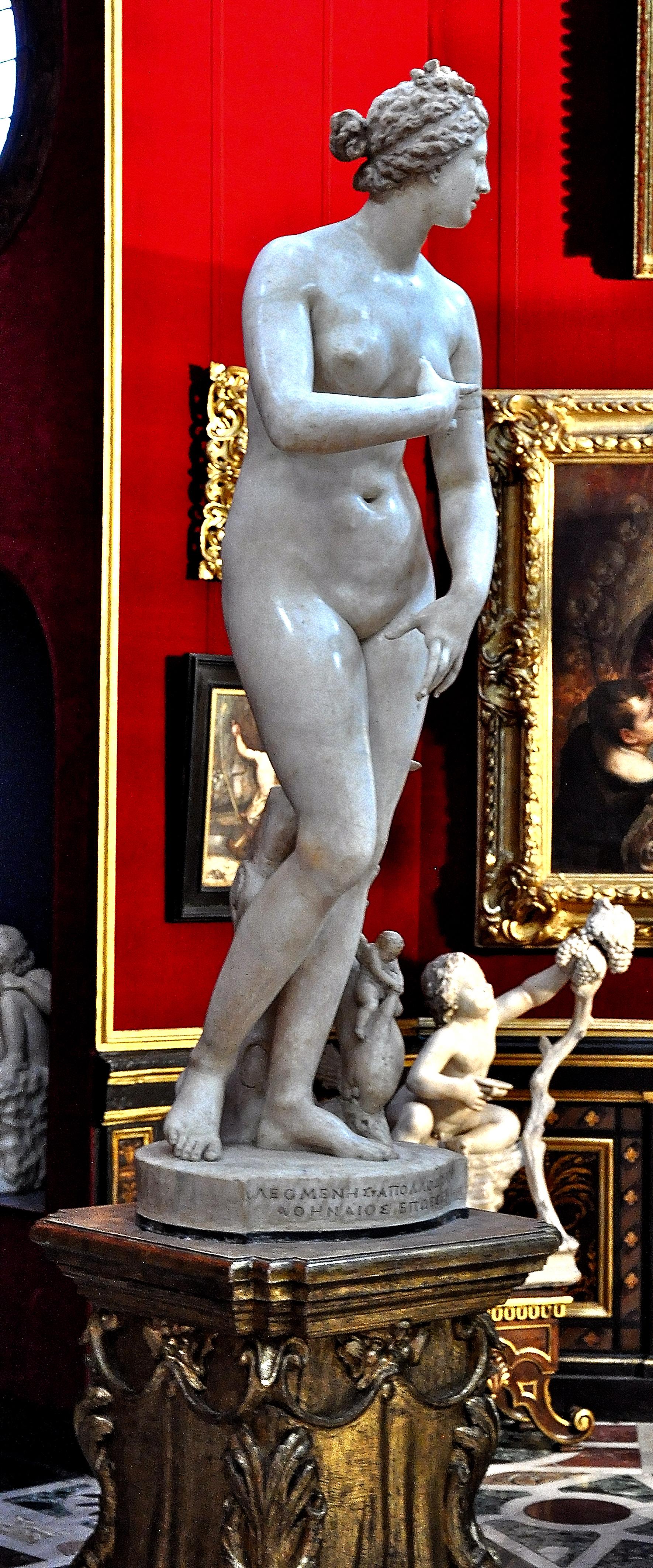 Venus de Medici, Uffizi, Florence, 9