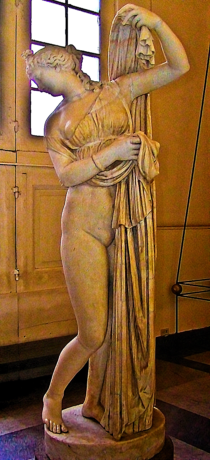 Venus Callypige, Napoli, Greco-Roman sculpture of an Hellenistic Greek sculpture, 8