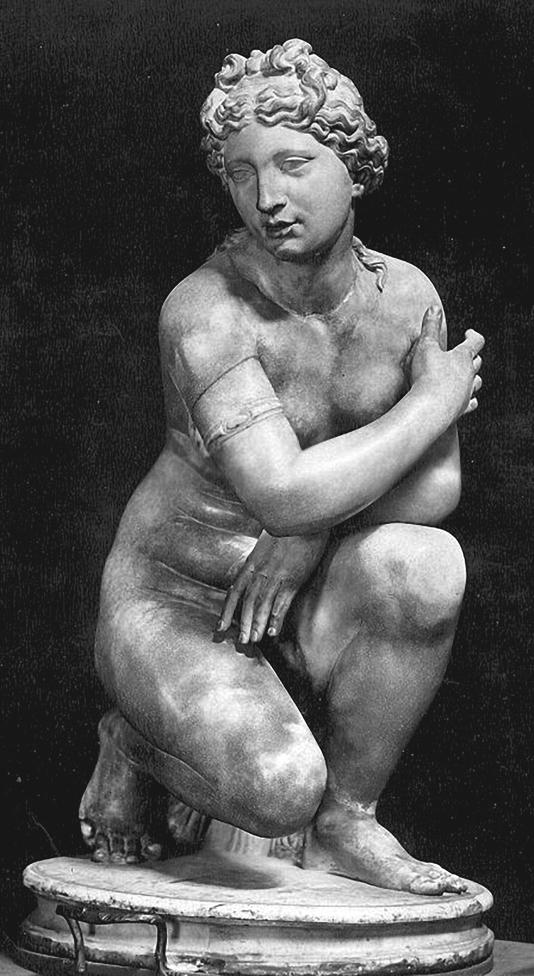 Crouching Aphrodite Ufizz iMuseum, Florence, Italy, 1, A