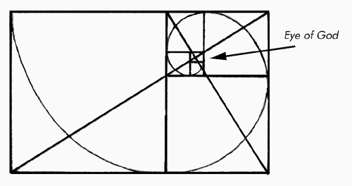 The Divine Proportion's Connection with the Logarithmic (Equiangular) Spiral and the Chambered Nautilus; and How to Use Golden Rectangles to Draw an Approximation to an Equiangular Spiral: