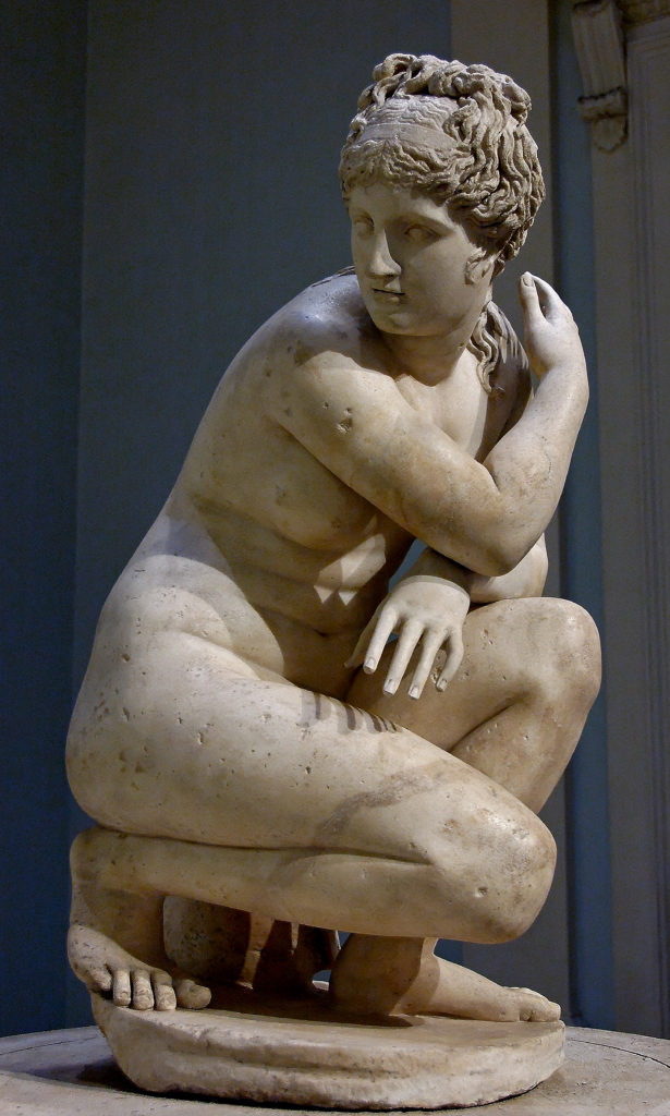 So called Lely Venus Aphrodite Surprised As She Bathes, British Museum, 1, A