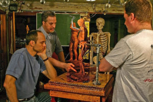 Anatomy Sculpture demonstration from class