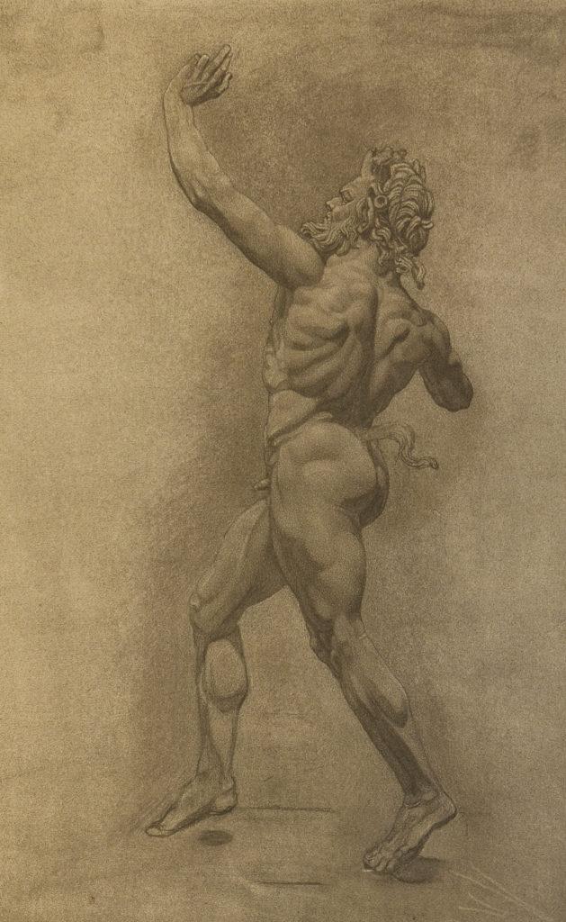 "Dancing Faun, Greco-Roman bronze, ""Casa_del_fauno"" Pompei, 2nd century B.C., Naples National Archaeo"