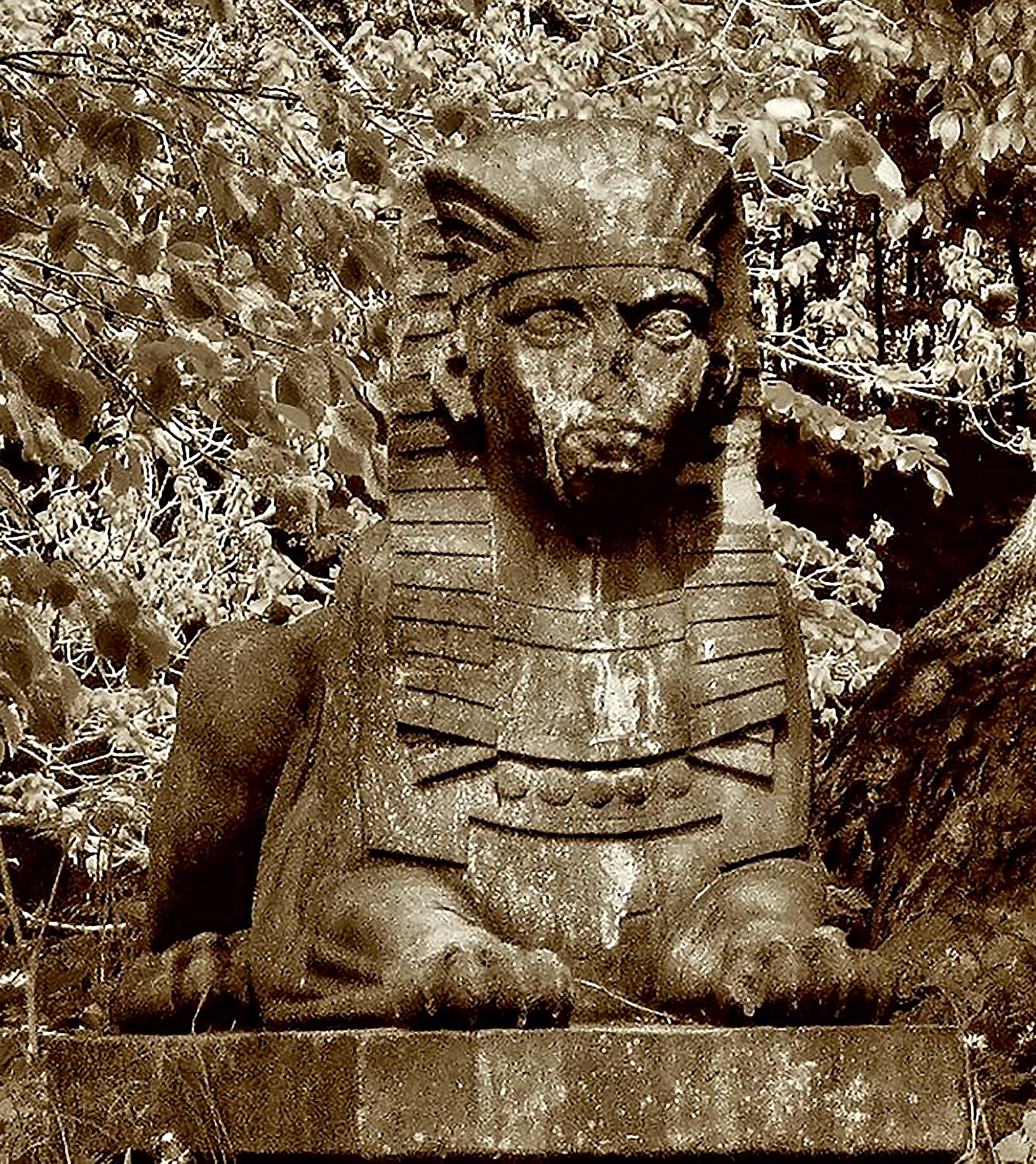 Schwanteich, Gotha, Thüringen, 1805 - Frederick William Eugen Döll - Sphinx vom Monument