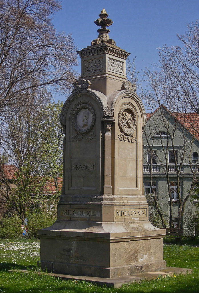 Arnoldidenkmal - Leopold Frederich Doell - Gotha