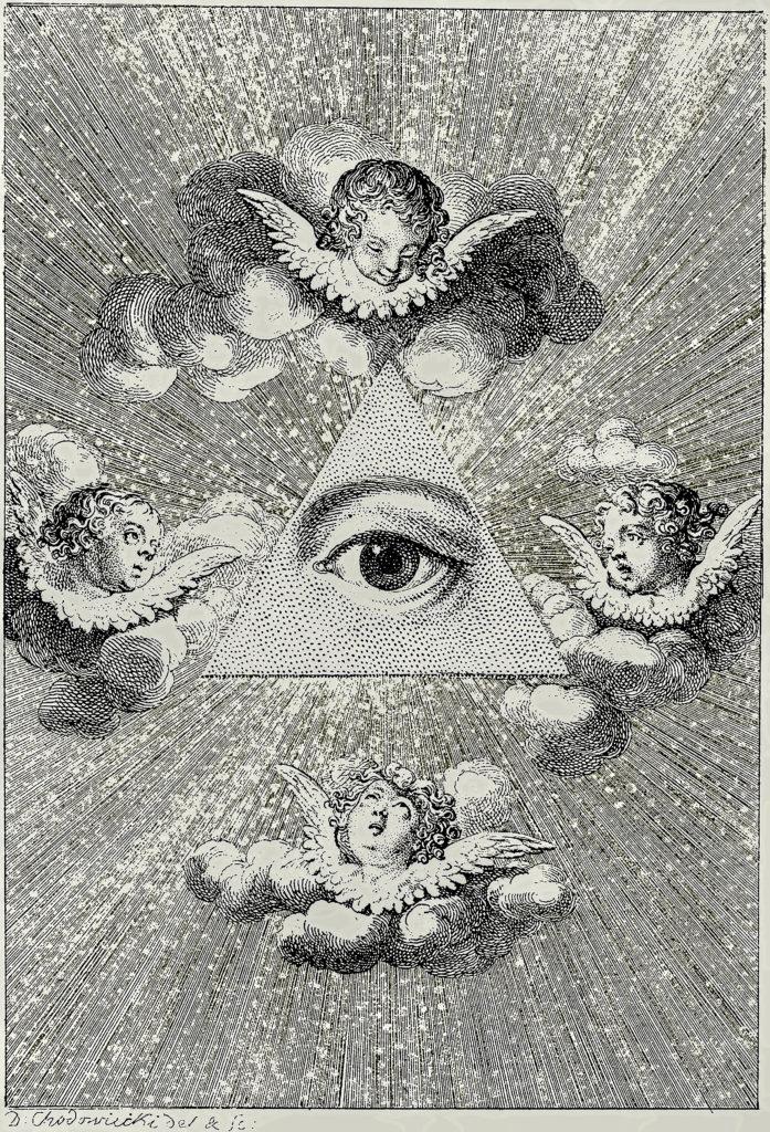 Chodowiecki Daniel Nikolaus - Entstehungsjahr 1787, Pyramid Eye