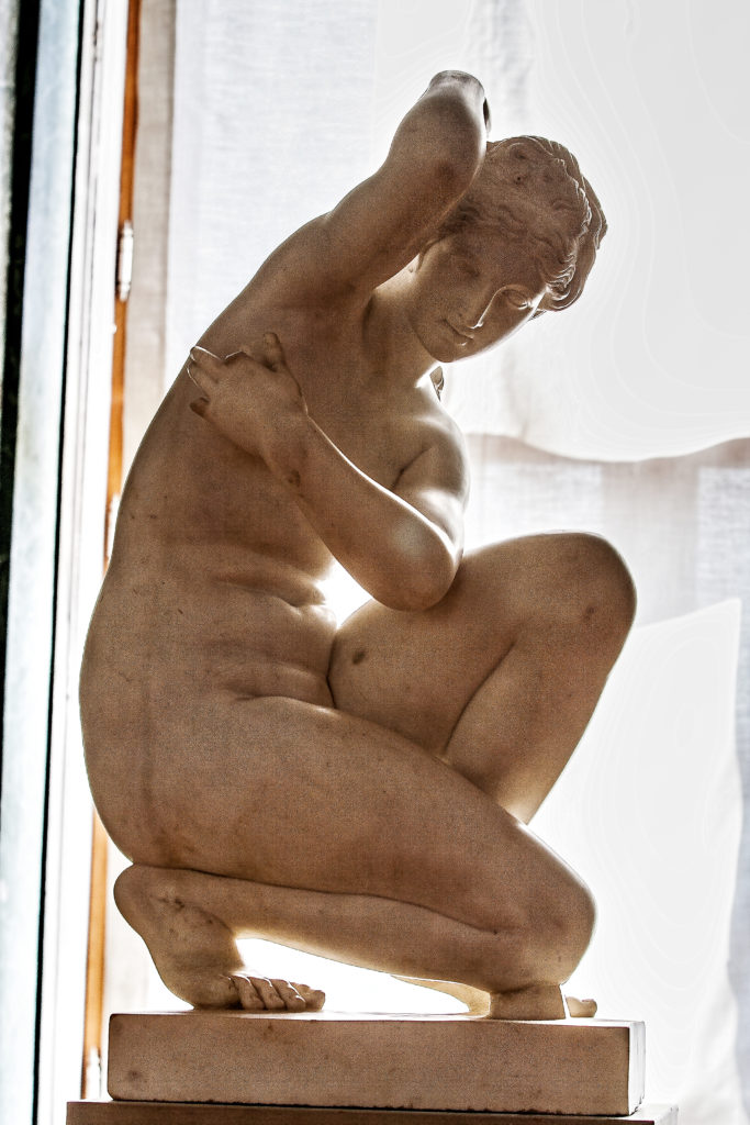 Leopold Doell - Crouching Aphrodite, Gotha, Thueringen