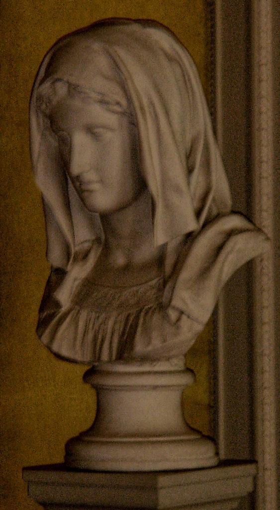 Eugen Doell - Female Bust Hodded, Gotha