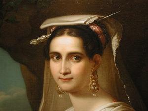 Friederich Ludwig Theodor Doell - Italian Portrait