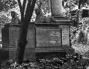 Leopold Friedrich Döll - Two Sphinx - Gotha, Now In Coburg