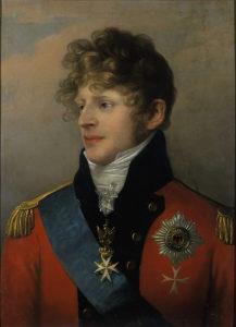 Friedrich Ludwig Theodor Doell - Porträt des Herzogs August von Sachsen-Gotha-Altenburg