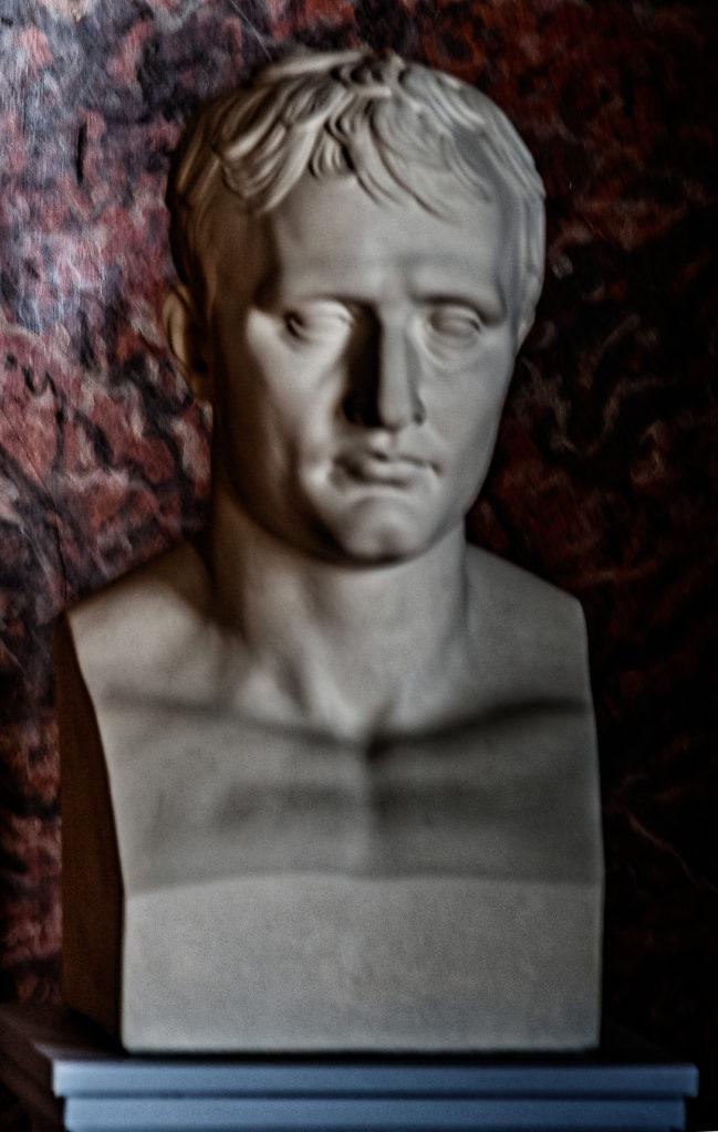 Jean Antoine Houdon, The Emporer Napoleon, Plaster, Schloss Friedenstein, Gotha, Thüringen