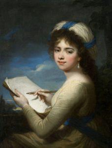 Portrait of Anetka Tyszkiewiczówna by Joseph Maria Grassi 1796