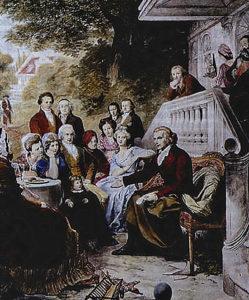 Schillers Gartenhaus in Jena 1797