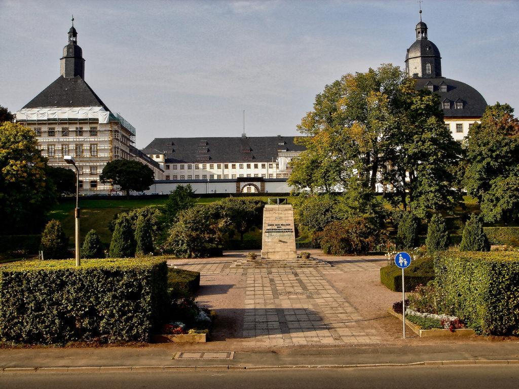 Schloss Friedenstein, Gotha, Thüringen - Exterior Full View Architecture