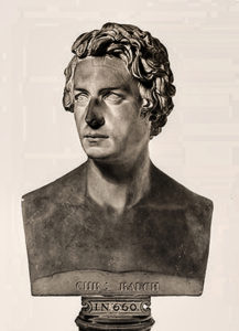 Tieck, Christian Friedrich - portrait bust sculpture by Christian Daniel Rauch