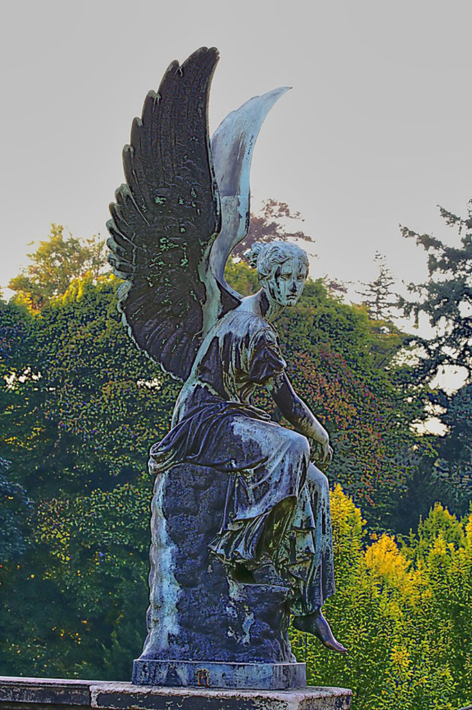 C. D. Rauch - Victory Winged Figure, Potsdam, Germany