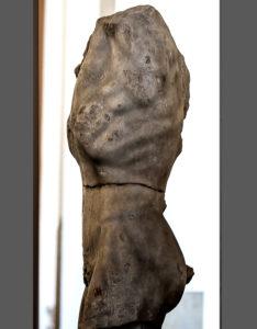 Pergamon Museum Berlin - Male Torso - Hanging Marsyas fragment, Greco-Roman
