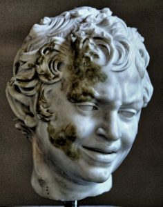 Faun Head - Munchen Glyptotek - Greco-Roman Hellenistic