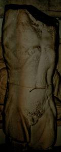 Plaster of Pergamon Museum Berlin – Male Torso – Hanging Marsyas fragment, Greco-Roman