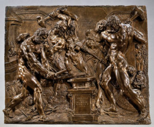 Adriaen de Vries, Vulcan's Forge, 1611 Bronze, 47 x 56.5 cm., Bayerisches Nationalmuseum, Munich