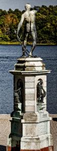 Adriaen De Vries - Neptunus med trident - Drottningholm Castle, Sweden