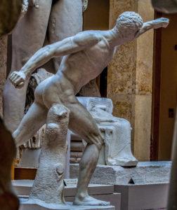 Borghese Warrior - Hellenistic, Greco-Roman - Louvre Museum, Paris, Plaster Munich
