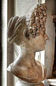 Busto Fonseca, età flavia, inizio II sec dc, Livia, Greco-Roman bust, Capitolini Museum, Rome