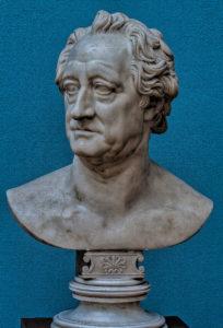 Christian Daniel Rauch - portrait bust of Goethe, marble, Leipzig Museum of Fine Art