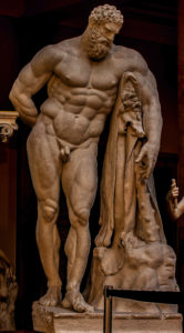 Farnese Herakles - Hellenistic, Greco-Roman - Naples National Archaeology Museum, Plaster Munich