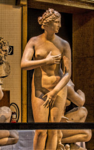 Venus de Medici - Hellenistic, Greco-Roman copy - Uffitzi Museum, Florence - Plaster, Munich
