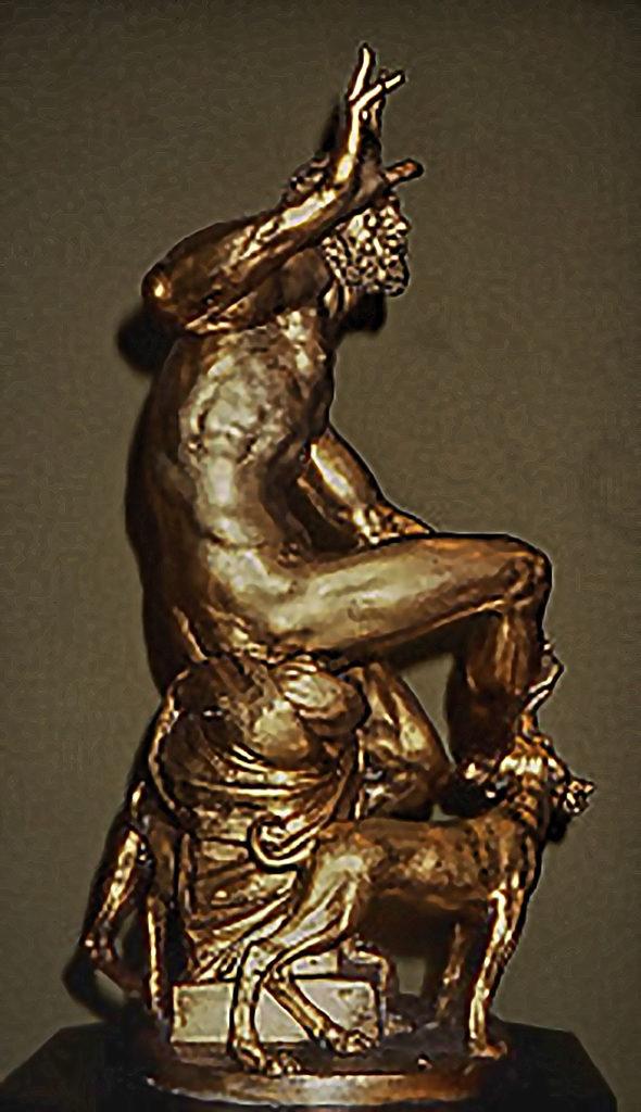 Adriaen de Vries - født Før 1546 død 1626, Lazarus 1615, Bronze, Statens Museum for Kunst, København, Denmark