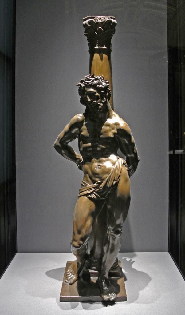 Christus an der Geißelsäule - Christ at the scourge column, - Adriaen de Vries, 1613, Kunsthistorisches Museum Wien, Vienna, Austria