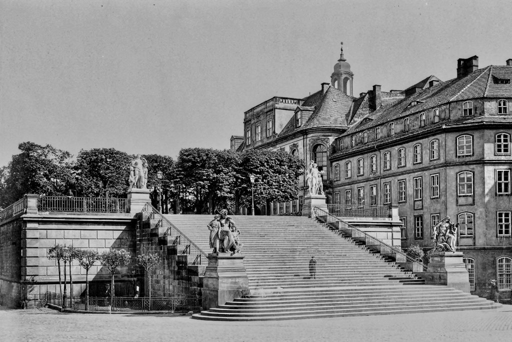 Dresden Brühlsche Terrasse 1880