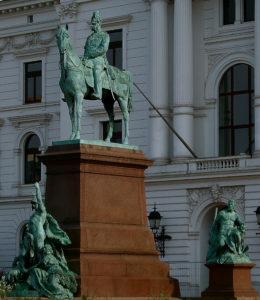 Gustav Eberlein - Bild Kaiser Wilhem Altona, Detail - Hamburg, Altona